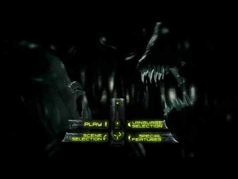 Aliens vs. Predator Requiem (2007) DVD Menu