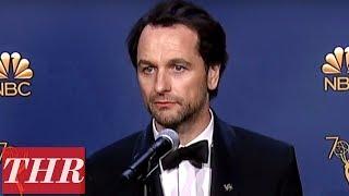 Matthew Rhys: 2018 Emmy Awards Winner Backstage Interview   THR