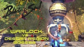 Blade & Soul KR - Warlock vs Desert region Bosses