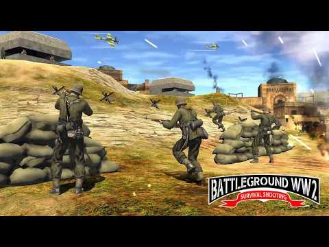 WW2 Counter Shooter Frontline War Survival Game