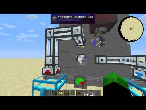 Chamber - No meu último vídeo (http://youtu.be/LAYYD4K3mQ8 - Bugando o Ar Comprimido - Minecraft com Mods 1.6.4 EP35) eu utilizei um bug a meu favor para evoluir o mod e para fazer minha primeira criação...