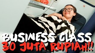 Video REVIEW BUSINESS CLASS PESAWAT JEPANG 30 JUTA SEKALI TERBANG!! MP3, 3GP, MP4, WEBM, AVI, FLV April 2019