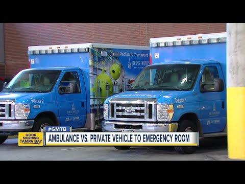 Ambulances may lower survival chance for gunshot, stabbing victims, study says