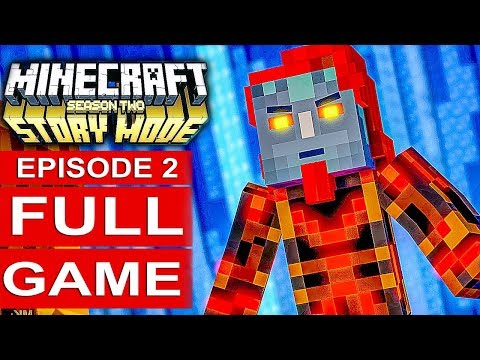 MINECRAFT STORY MODE SEASON 2 EPISODE 2 Gameplay Walkthrough Part 1 FULL GAME - No Commentary (видео)