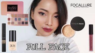 Video Nyobain Makeup Under 100K | Focallure One Brand Tutorial | First Impression | Review | Ayunisa MP3, 3GP, MP4, WEBM, AVI, FLV Juli 2019
