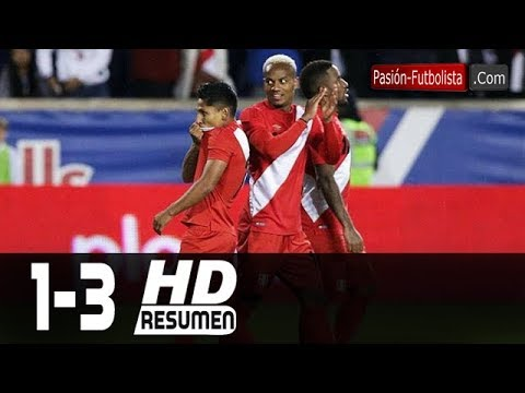Islandia Vs Peru 1-3  RESUMEN GOLES Amistoso Internacional [Friendly-Match] 27/03/2018