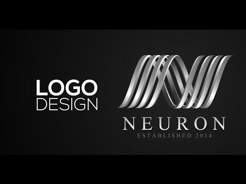 Professional Logo Design - Adobe Illustrator cs6 (Neuron)