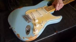 Video How to Relic a guitar MP3, 3GP, MP4, WEBM, AVI, FLV Juni 2018