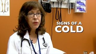 Healthy Living - Cold and Flu Signs