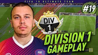 FIFA 18 DIVISION 1 GAMEPLAY - MY NEW INSANE FORMATION & TACTICS! HOW TO WIN DIVISION 1! RTG #19