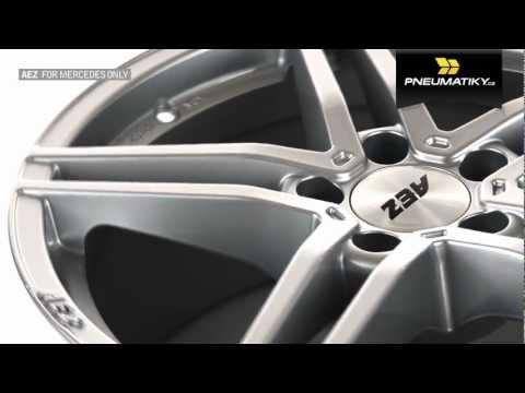 Youtube AEZ Portofino 8x17 5x112 ET35 Titanový lesk