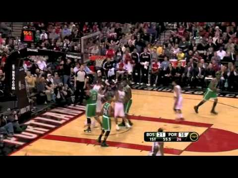 Patty Mills to LaMarcus Aldridge against Celtics