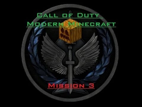 Call Of Duty Modern Minecraft - Mission 3 [HD]