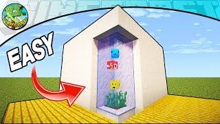 Minecraft Tutorial: Modern Fish Tank