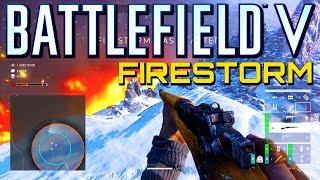 Battlefield 5 Firestorm PS4 Pro Gameplay