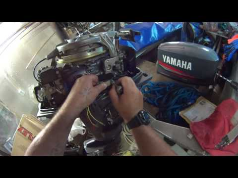 Покупка и установка стабилизатора на лодочный мотор. - DomaVideo.Ru