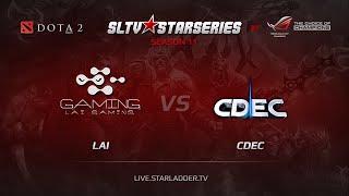 CDEC vs LAI, game 1