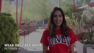 Wear UNLV Red Week