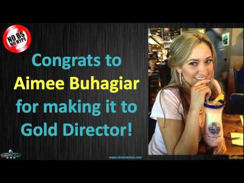 Network Marketing Training: What it Really Takes to Advance to Gold Director with Aimee Buhagiar
