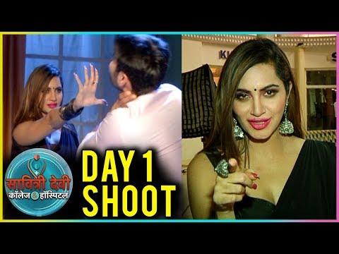 Arshi Khan Day 1 Shoot As A Daayan In Savitri Devi