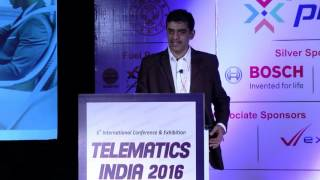 K. Srinivasan, Managing Director, Allgo Embedded Systems (Visteon) - Telematics India 2016