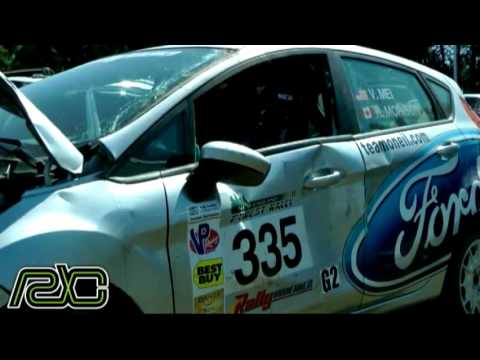 Verena Mei's First Stage Rally