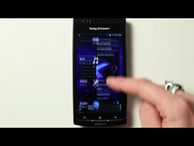 Demo of Xperia Ice Cream Sandwich alpha ROM [official]