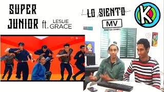 Video SUPER JUNIOR - Lo Siento (Feat. Leslie Grace) [MV REACTION ESPAÑOL] MP3, 3GP, MP4, WEBM, AVI, FLV April 2018
