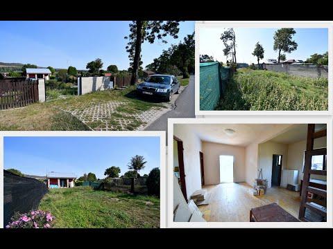 Video Prodej zahrady s chatou bez kolaudace v obci Křešice
