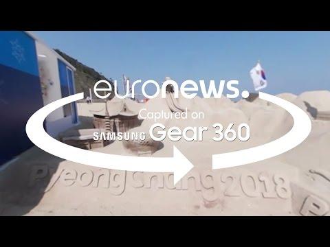 360° video: PyeongChang 2018 Winter Olympics House in Copacabana