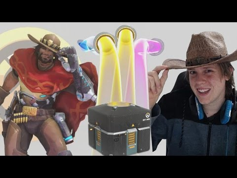 Overwatch - Unboxing 101 Anniversary Lootboxes!