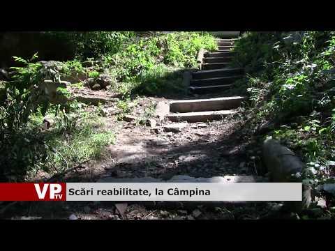 Scări reabilitate, la Câmpina