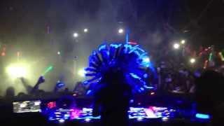 Steve Aoki Live @ Hakkasan Las Vegas - DJ Booth - Set Intro
