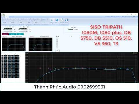 Bổ sung Chỉnh vài tính năng vang số siso, tripath siso 1080M, T1080plus, VS360, os510, db s750