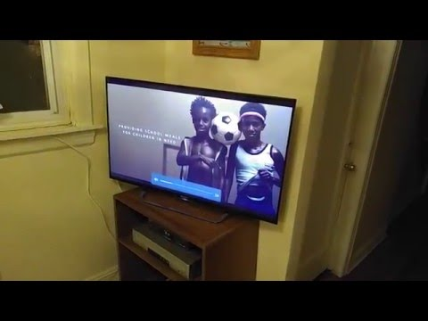 Sony BRAVIA Android TV unboxing