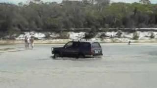 Bribie Island Australia  City new picture : bribie island 4x4 4wd 2007 australia sand beach water