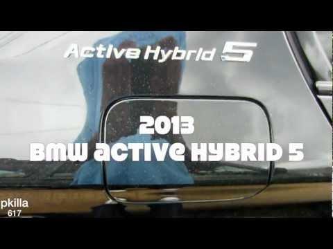 2013 BMW Active Hybrid 5