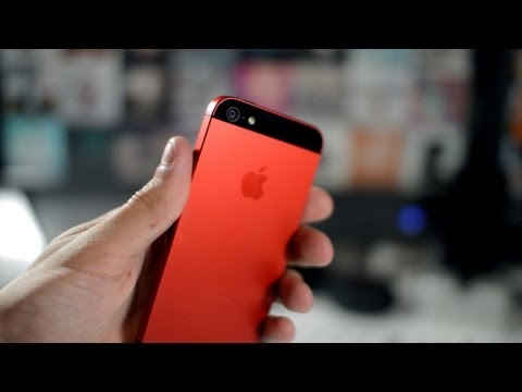 This is a Red iPhone 5 / 5s - MendMyi ColourLab Review (iPhone 5 Colour!)
