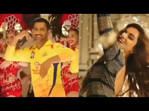 Watch Deepika Padukone And MS Dhoni Dance To IPL Anthem