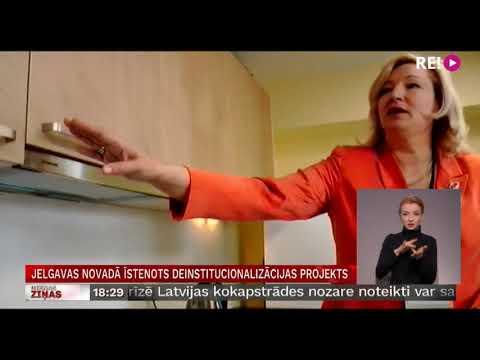 Jelgavas novadā īstenots deinstitucionalizācijas projekts