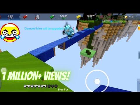 New FUNNIEST TRAPDOOR Trolling in Bedwars!! 🤣😂 (Blockman GO Blocky Mods)