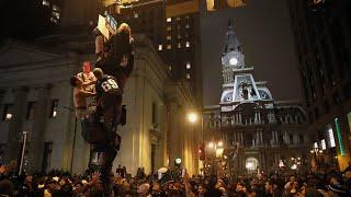 Super Bowl AFTERMATH: Philadelphia Eagles FANS GO HAM! Zach Ertz Interview!