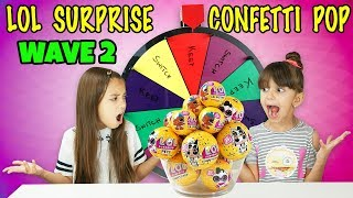 Video MYSTERY WHEEL OF LOL SURPRISE CONFETTI POP SWITCH UP CHALLENGE MP3, 3GP, MP4, WEBM, AVI, FLV Maret 2019