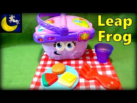 Leapfrog Shapes & Sharing Picnic Basket Toy - Awesome Pretend Toy!!