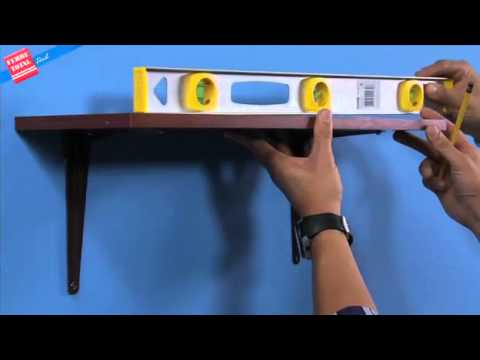 Ferretotal - ¿Cómo instalar una repisa?