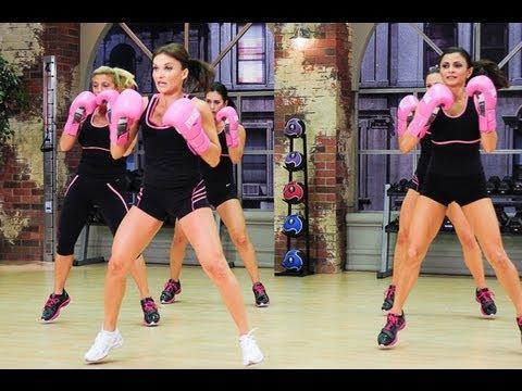 Cathe Friedrich's XTrain Hard Strikes Workout