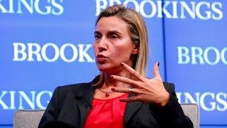 Federica Mogherini @Brookings Institute -
