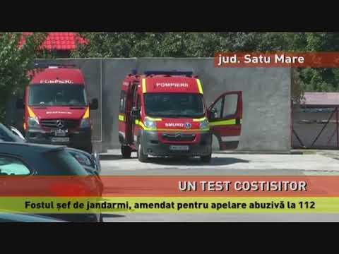 Fostul șef al Jandarmeriei din Satu Mare, amendat pentru apel abuziv la 112