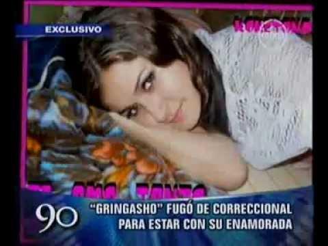 Gringasho confesó que viajó a Lima a buscar a su enamorada