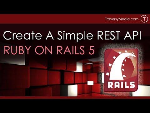 Rails REST API Tutorial